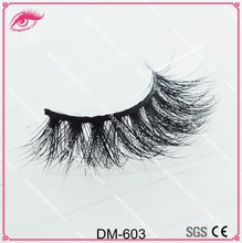 2017 high quality 100% real 3D Mink fur Lashes