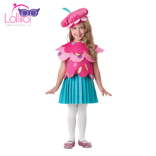 Factory price children carnival costumes flower fancy dress costumes