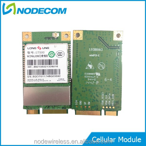 U7500-mini PCIe Embedded Wireless Low price USB 3G Module