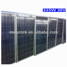 Hot sale high quality 225W 30V Poly solar panel with CE, TUV, RoHS, UL Certificates