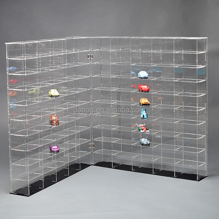 Transparent acrylic toy display shelf & car model large size display rack
