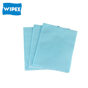 wood pulp polyester spunlace nonwoven wipe cloth