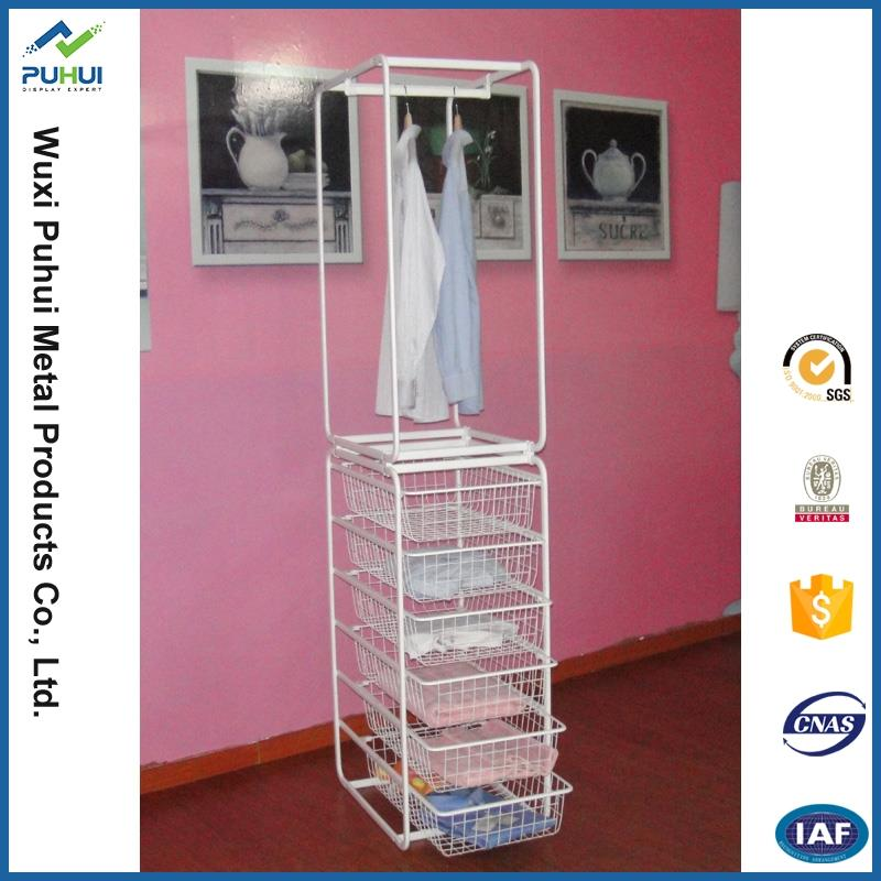 popular floor childrens clothes storage rack