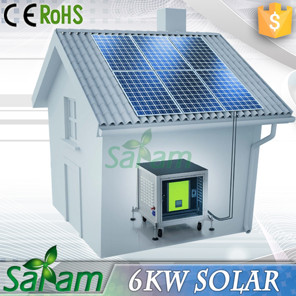 6KW House Used Solar Equipment For Sale