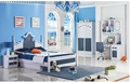 2017New style design kids bedroom sets was made by E1 MDF board for bedroom furniture for kids