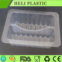 Food grade clear transparent plastic bread box for sell