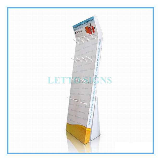 Multifunctional hot selling cardboard display stand rotating