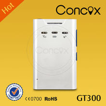 Concox GT300 Portable personal gps tracker with two-way communication and one key sos alarm for adult .