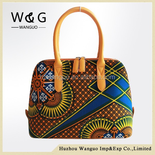 New design wax print african bags