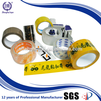 China Factory Packing Sealing Good Elongation Tape Low Noise