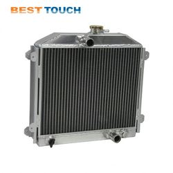 Commodore Vt/Vx 3.8L Petrol V6(Only) 1997-2002 Plain Fin Aftermarket Radiator For Holden