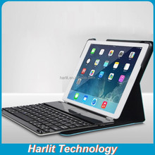 Magnetic Bluetooth Keyboard For iPad 4 With Leather Cover Case For iPad 4 Keyboard With Customized Leather Cover