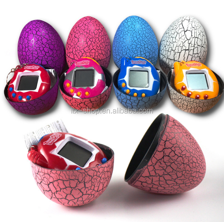 New Arrival Magic Electric Virtual Pet Machine, Tumbler Candy Game Console Crack Hatching Egg Kids Toy