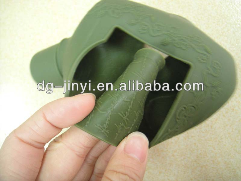 Useful Eco-Friendly Silicone Waterproof Rubber Bottle Cover Cap Coat