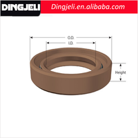 High Abrasion Resistance Silicone Oil Seal