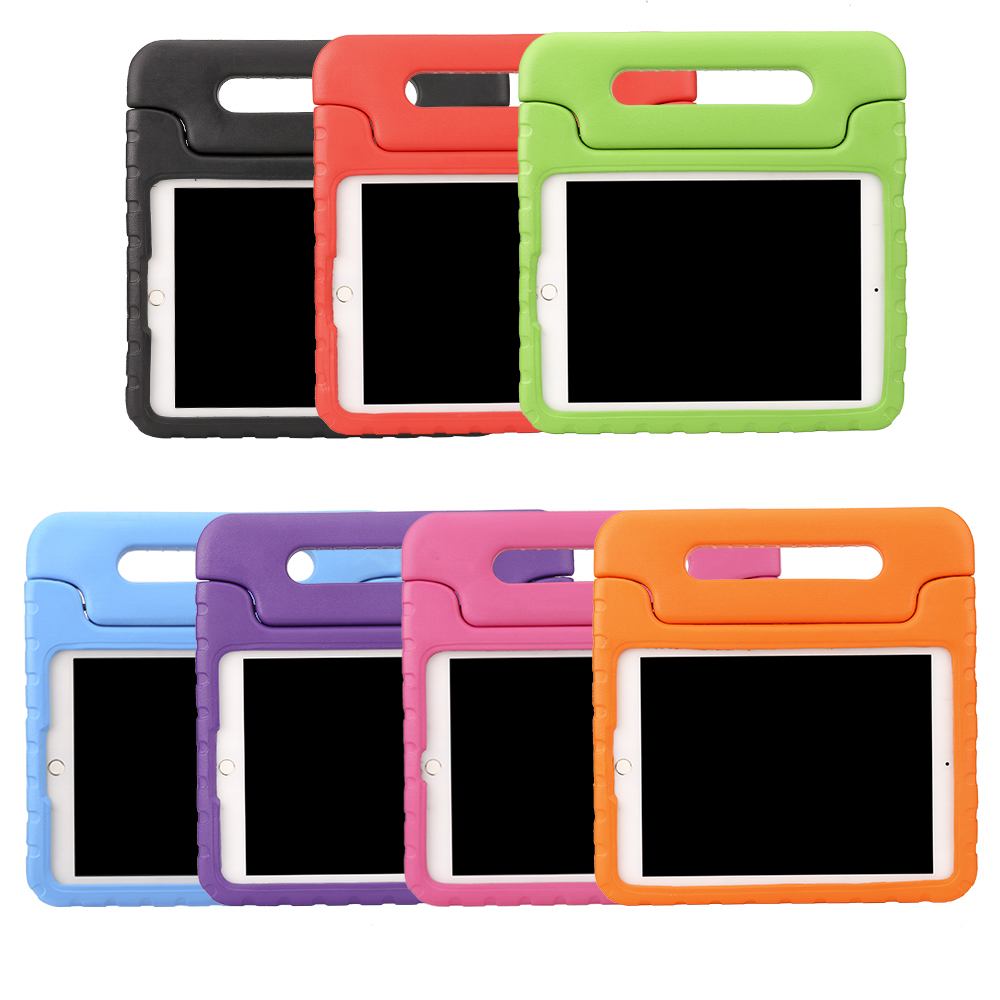Shockproof Case for Apple iPad Air 2 Case Light Weight Kids Case Super slight Cover Handle Stand