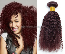 Best quality Chinese afro kinky curly human hair,fast shipping