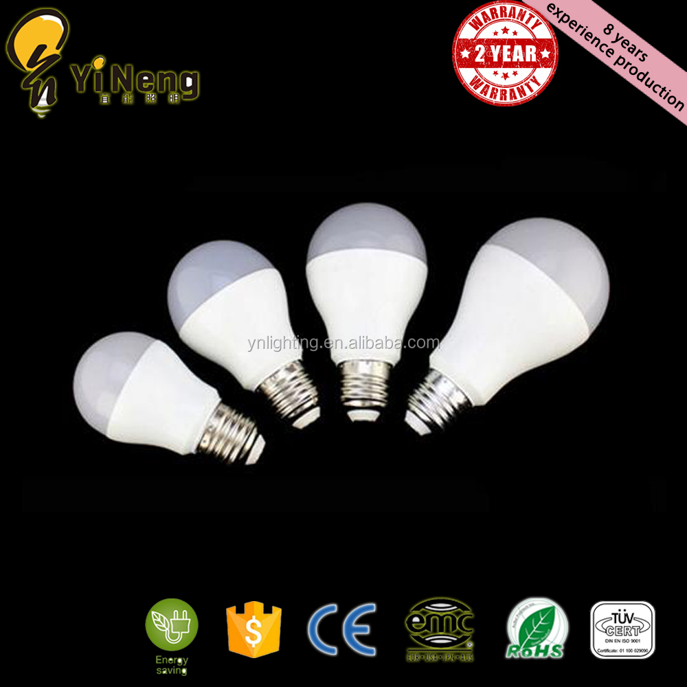 new products 180 degree 7w IC driver AC160-265V E27 B22 wholesale a19 a60 led bulb lamp