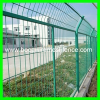 high quality green Y fence posts security airport fence