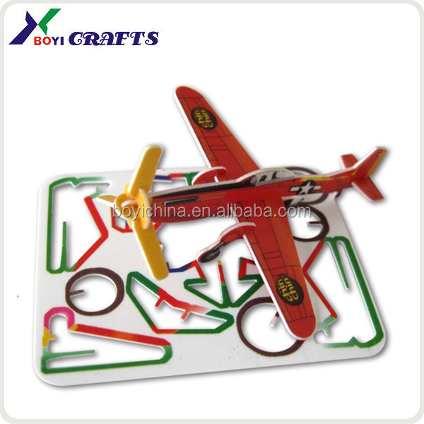 2014 Most popular educational planes puzzle toy for kids