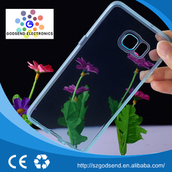 High Performance wholesale transparent silicone phone case for samsung note 5