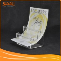 Customed Craftsmanship Clear Acrylic Jewelry Earrings Display Stand