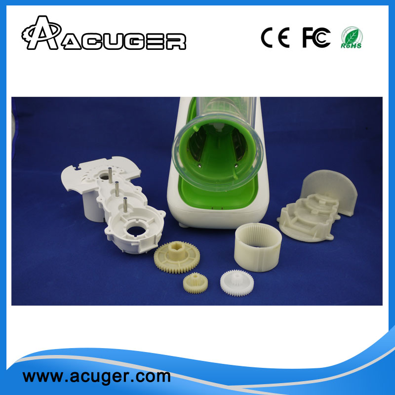 ACUGER 2017 plastic helical hunting gear for Shred peeler
