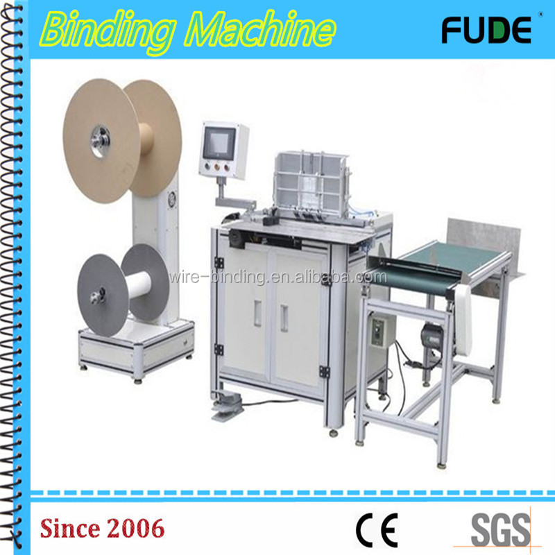 2016 new product double wire binding machine in dongguan