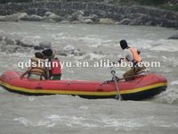 white water raft boat with extra 1.8mm pvc bottom