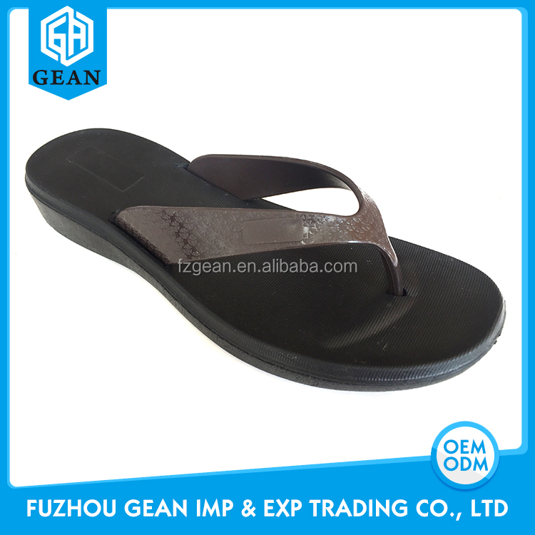 Low Price Promotional Cheap Injected EVA Material Flip Flops For Women