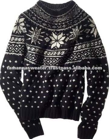2012 Style Jacquard Knitted Sweater