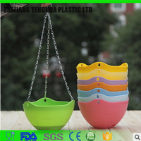 Home Garden Plastic Flower Pot Hanging