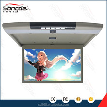 15 inch Motorized Roof Mount Flip Down Monitor For Bus