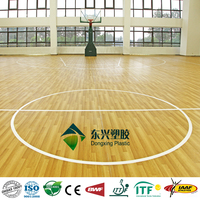indoor sports flooring for basketball court