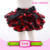 2018 Lovely Baby Ruffle Bloomer Satin Baby Diaper Cover For Infants Shorts