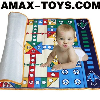 btp-1071419E kids play mat funny flying chess play mat