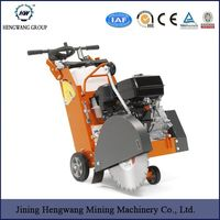 walk behind concrete diesel engine road cutter