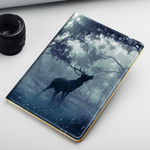 PSG Carton Pattern Laptop Tablet PC case for iPad Cover