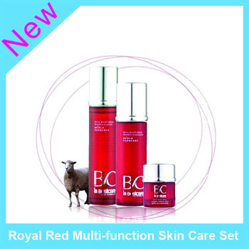 Royal Red Multi-function Skin Care Set