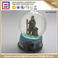 2016 Hot Sale Arts And Crafts Personalized Water Globes