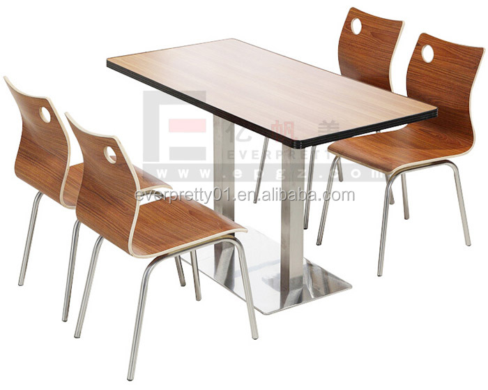 New Design Cafeteria Table Furniture