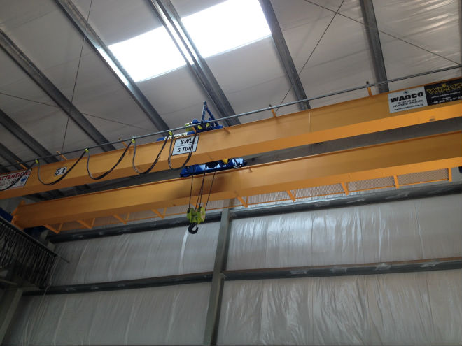 EOT Overhead Bridge Crane