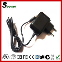 5v 1a china dc power supply 5w with CE UL KC certification