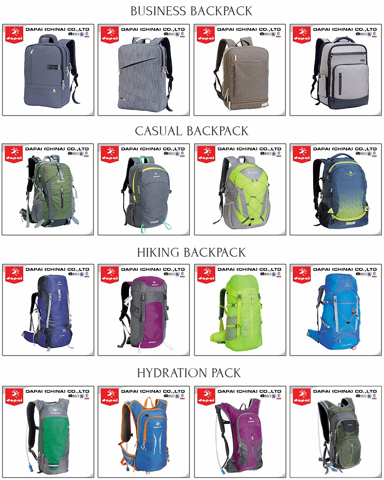 China Outdoor Hiking Day Pack Gear Camping Backpack