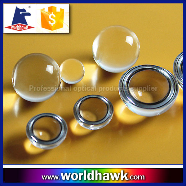 1mm 1.5mm 2mm 4mm 12mm BK7 optical glass sapphire ball Lens half ball lenses