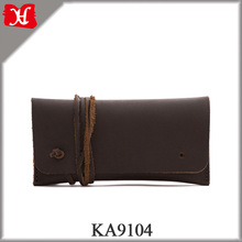 Small Leather Accessories Stylish Handmade Pencil Case/Sunglass Case/Tobacco Pipe Bag