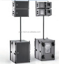 YG 75 Bi-amp 1x10 inch outdoor stage passive 2way line array dj concert sound system