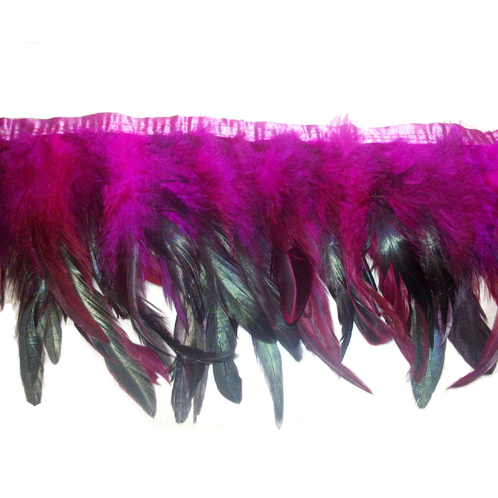 Fashion birds Feather Trim Fringe For garment decoration