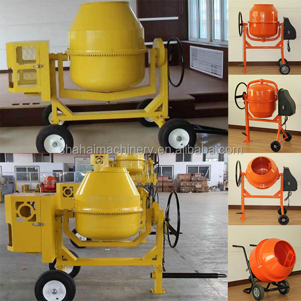 hot sell 600L electric mini concrete mixer/Best Sale Congo! Mini Concrete Mixer Guangzhou Manufacturer