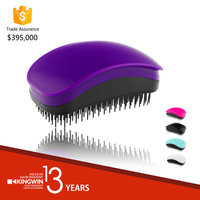 purple chromed detangler no tangle smoothing comb